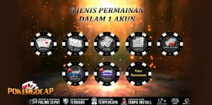8 Jenis Permainan Dalam 1 ID - Poker Uang Asli