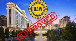 Daftar Super10 - Caesars Palace Las Vegas Memilih Untuk Bergabung Dengan UAW